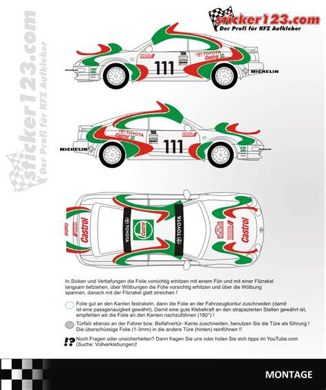 Castrol Aufkleber Set by Sticker123