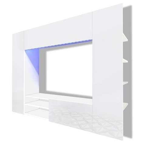 Lemari Es Walls centro de entretenimiento mueble tv de pared con led 169