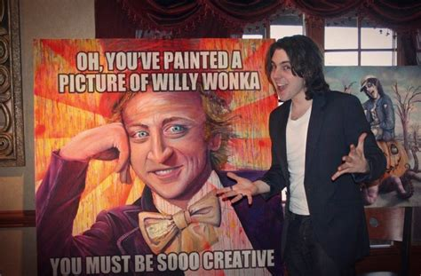 Condescending Willy Wonka Meme - tribute painting by jim mckenzie condescending wonka