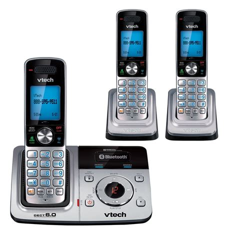 V Tech Cell Phone Holder Merah vtech expandable dect 6 0 cordless phone system w