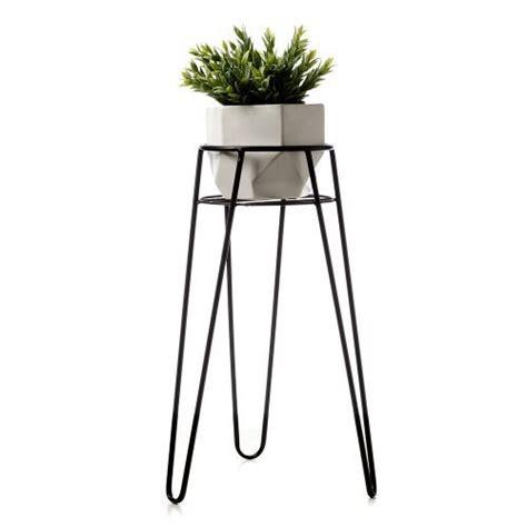 home decor stands home republic vida plant stand charcoal homewares