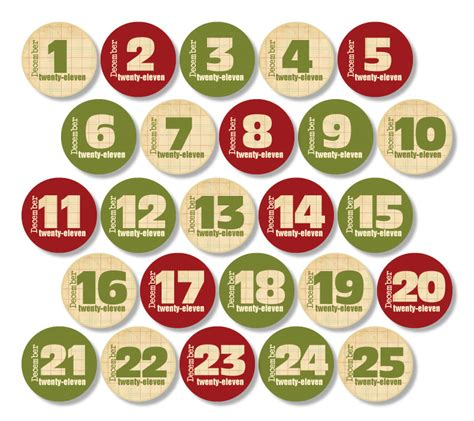 printable christmas numbers 1 25 4 best images of printable christmas numbers 1 25 free