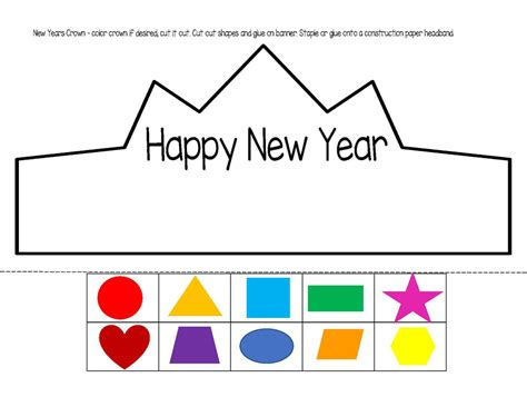 printable alphabet headbands new year theme activities and printables for preschool and