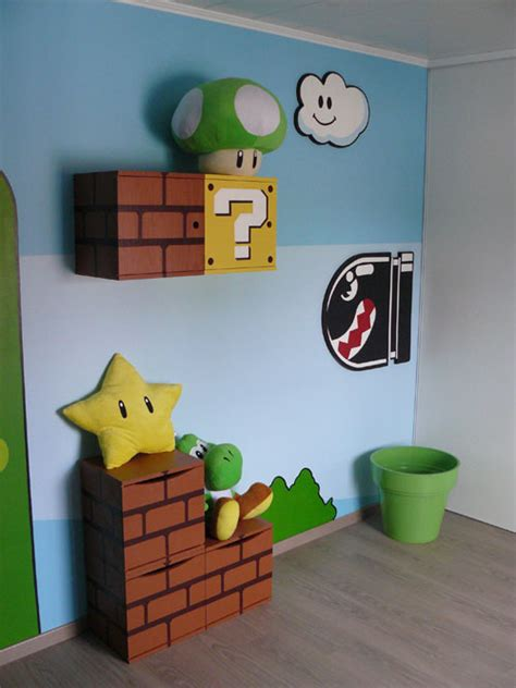 mario bedroom decoration super mario bros images frompo