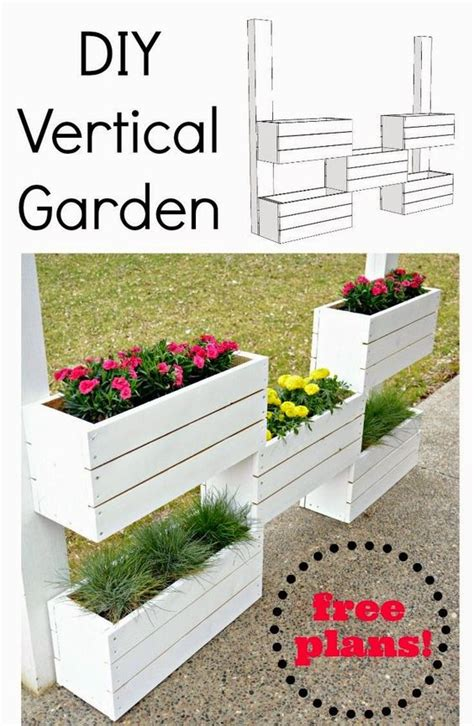 how to build a vertical planter the home depot diy