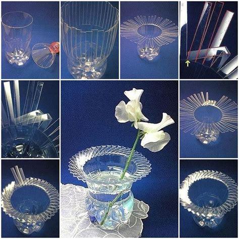 vasi con bottiglie plastica 5 idee per riciclare le bottiglie di plastica bricolage