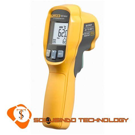 Termometer Ruangan jual infrared thermometer ir thermometer fluke 62 max harga murah jakarta oleh toko solusindo