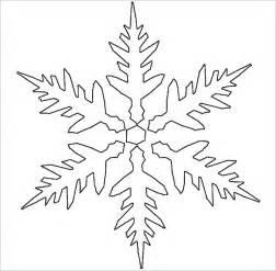 snowflake stencil template 17 snowflake stencil template free printable word pdf