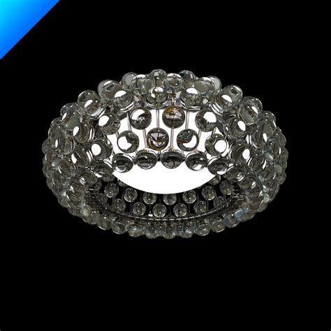 Caboche Ceiling Light Caboche Ceiling L 3d Model