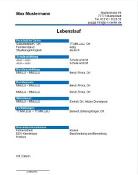 Lebenslauf Muster Cnc Fraser Vorlagen Lebenslauf Chance Consulting Center F 252 R Hilfe Rund Um Die Bewerbung