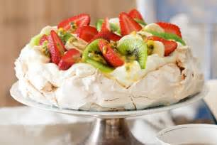 Toppings For Potato Bar Marshmallow Pavlova Recipe Taste Com Au