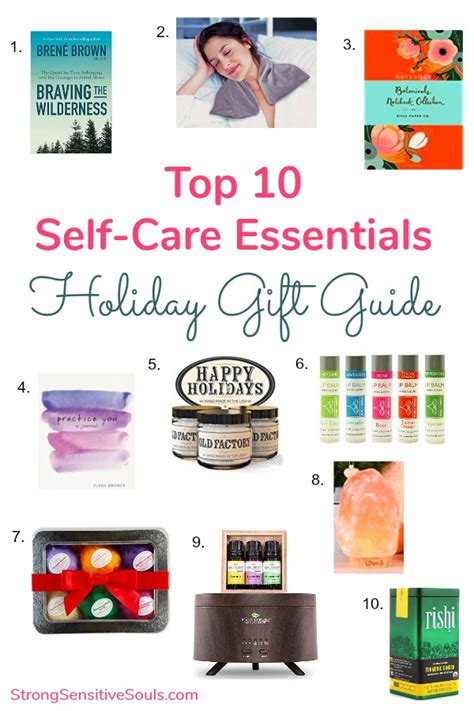 My Gifts This Holidaybeauty Related by Top 10 Self Care Essentials Gift Guide Strong