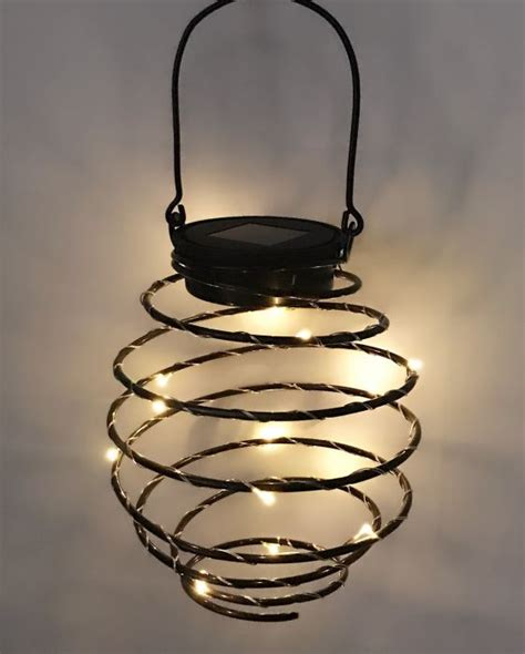 solar spiral lights set of 6 solar spiral lantern led lights by solaray 163 24 99