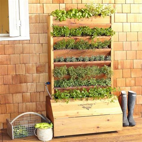 self watering vertical planter casa de campo pinterest