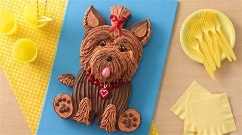 yorkie cakes yorkie cake recipe from betty crocker