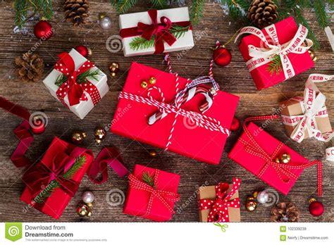 christmas gift giving stock image image of decorative