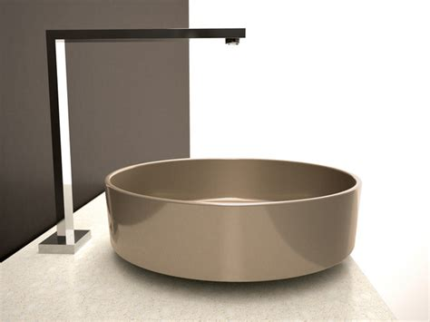 Modern Above Counter Bathroom Sinks Chagne Luxury Wash Basin Above Counter Vessel Sink