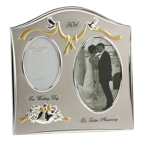 50th Wedding Anniversary Gift by Silverplated Wedding Anniversary Gifts 50th Golden