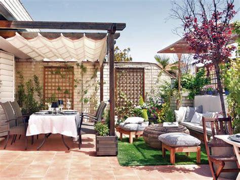 disenos toldos terrazas  como organizar la casa