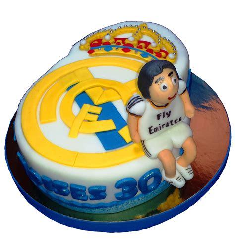 tarta fondant real madrid cristiano ronaldo tartas de fondant madrid