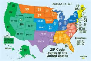 The zip code is the system of postal codes used by the united states