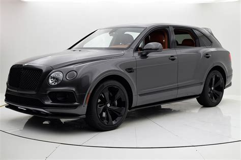 bentley bentayga silver 2018 bentley bentayga black edition for sale 258 315