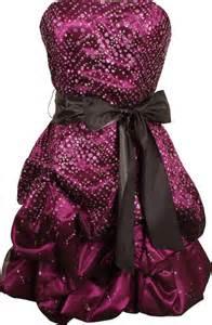 juniors formal dresses 187 strapless bubble dresses for prom