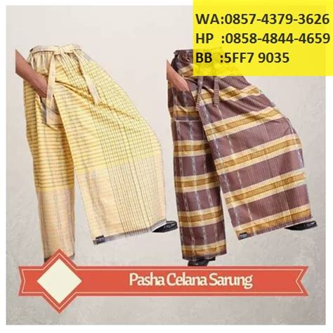 Sarung Celana Dewasa Jual Grosir Dan Eceran produsen distributor agen grosir celana sarung praktis
