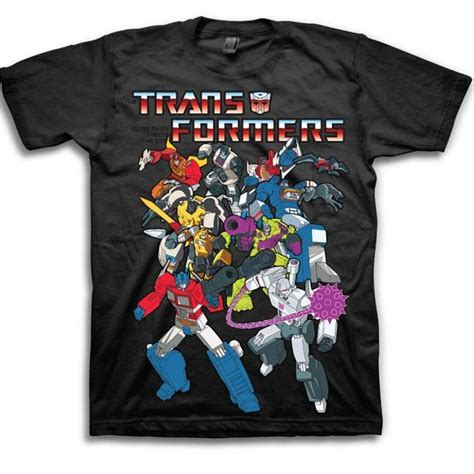 Tshirt Transformer Autobots 5 transformers t shirt autobot and decepticons style