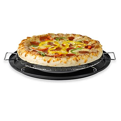 pizza stone bed bath and beyond buy nifty pie and pizza baking rack from bed bath beyond
