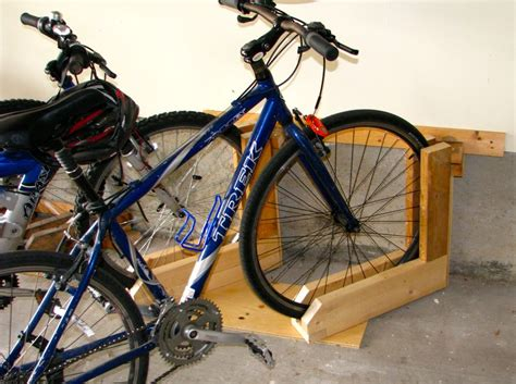 Angled Bike Rack by And Simple Bike Rack