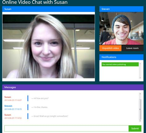 live video chat rooms video chat by forza020 codecanyon