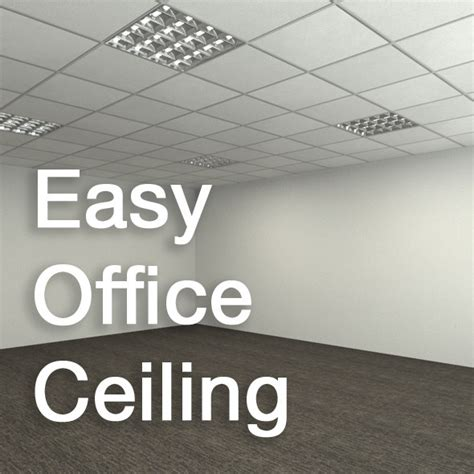 office ceiling material easy office ceiling by stef3d 3docean