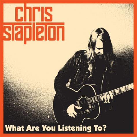 cover of chris stapleton s comeback song albums chris stapleton
