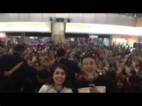 film london love story di hartono mall meet and greet dimas anggara dan michelle ziudith di