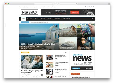 blogger themes for news 20 best wordpress newspaper themes for news sites 2018