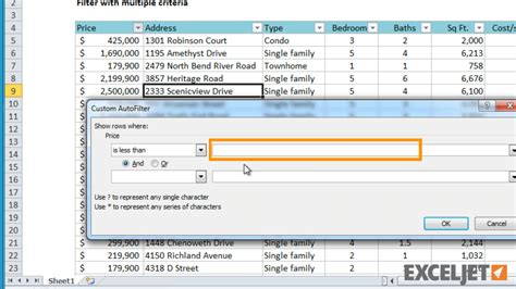 tutorial excel filter excel tutorial how to filter with multiple criteria
