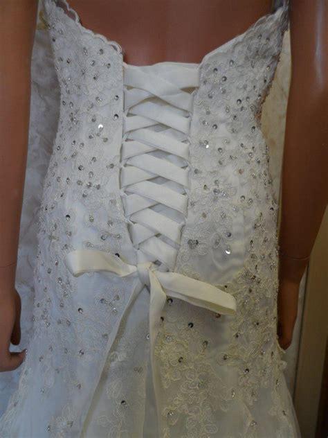 Lace Up Back  Ee  Wedding Ee   Dresses Weddingdresses Net