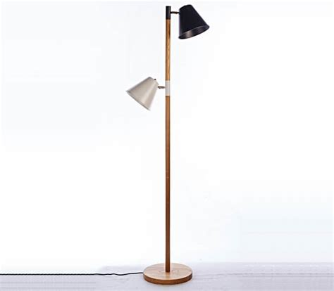 street light l shade street light shape with black and white shade floor l
