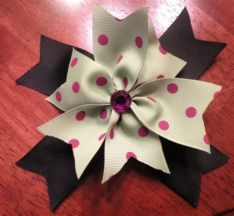 Handmade Hair Bows - handmade hair bow my creations