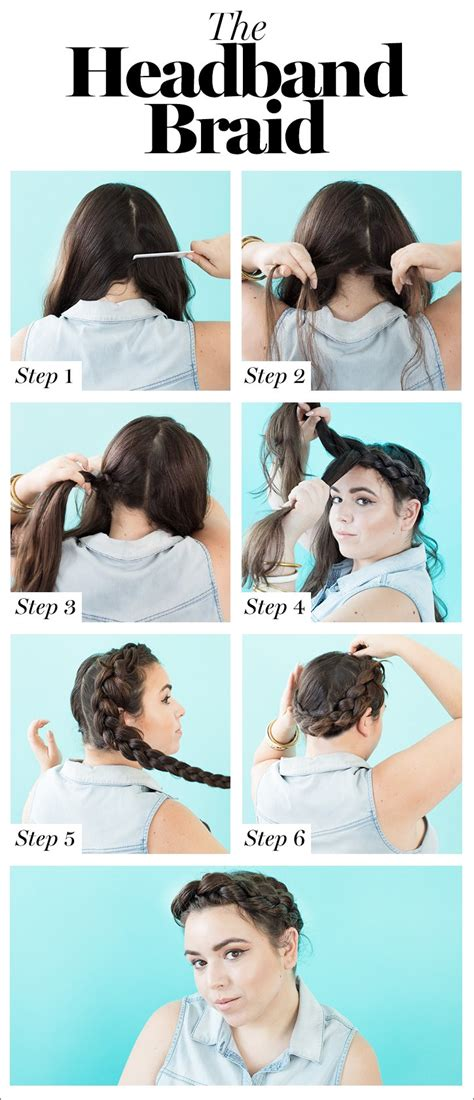 Hairstyles For Hair Braids Steps by How To Braid Hair 8 Diy Hairstyles For Every Hair