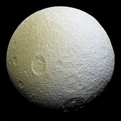 Moon Pictures Arcs Discovered On Icy Saturnian Moon