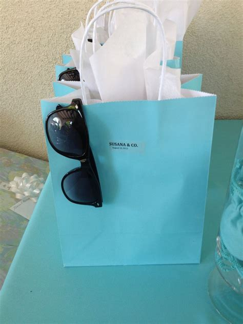 themed gift bags tiffany theme gift bags tiffany themed bridal shower