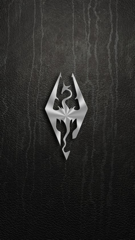 video games logos  elder scrolls  skyrim wallpaper