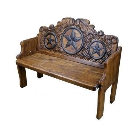 texas bench texas star wood benches and bench seat on pinterest