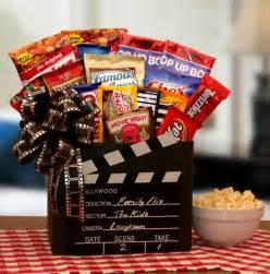 Movie Night Gift Basket Movie Gift Baskets