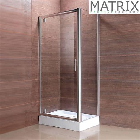 Matrix Shower Doors Matrix Premium Economy Pivot Door Square Shower Enclosure Now