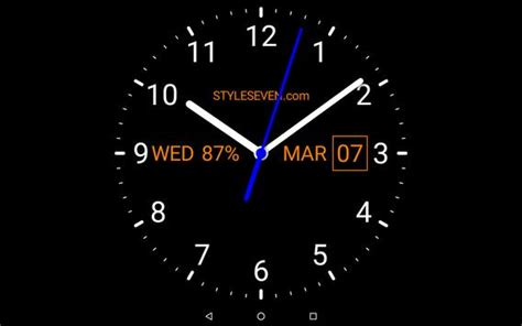 analog clock  wallpaper   android apk