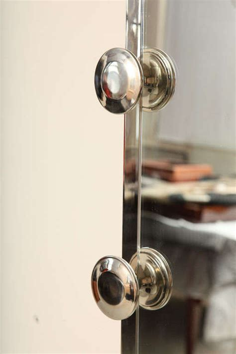 Wall Mounted Coat Rack With Mirror wall mounted coat rack with mirror at 1stdibs