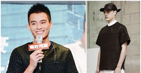 Temporary Family 2014 Film What S He Wearing Ou Hao 欧豪 In Alexander Wang Temporary Family Press Conference